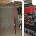 Piping in Basement