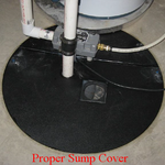 Gas Tight Sump Pit Cover